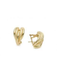 MC 443 Cercei aur galben 14 K