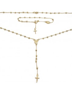 MS 088 Set rozariu aur galben