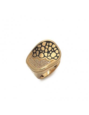 MI 915 Inel aur galben cu zirconii si...