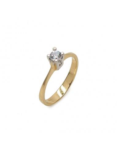MI 935 Inel de logodna aur alb cu...