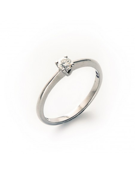 MD 150 Inel de logodna din aur alb cu diamant