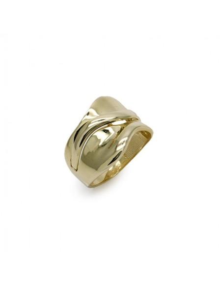 MI 119 inel aur galben 14k fara pietre