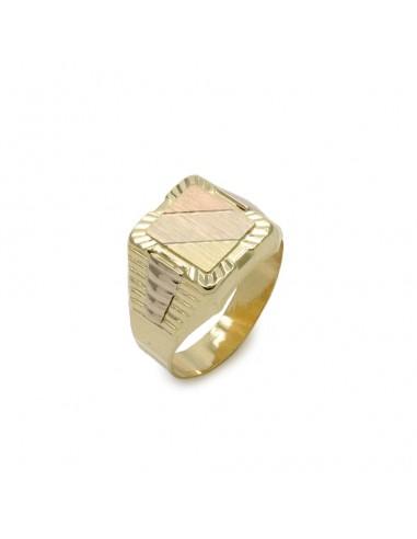 MI 060 Inel barbatesc aur galben 14K