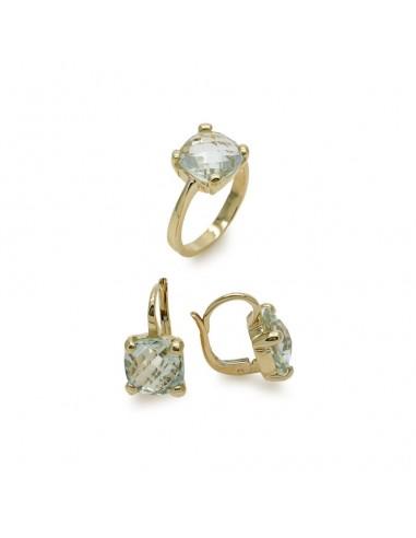MS 028 Set aur galben cu pietre