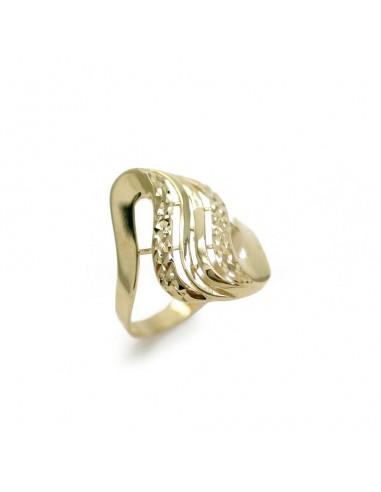 MI 125 Inel aur galben 14 K fara pietre