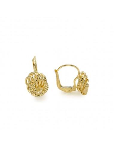 MC 963 Cercei aur galben circulari